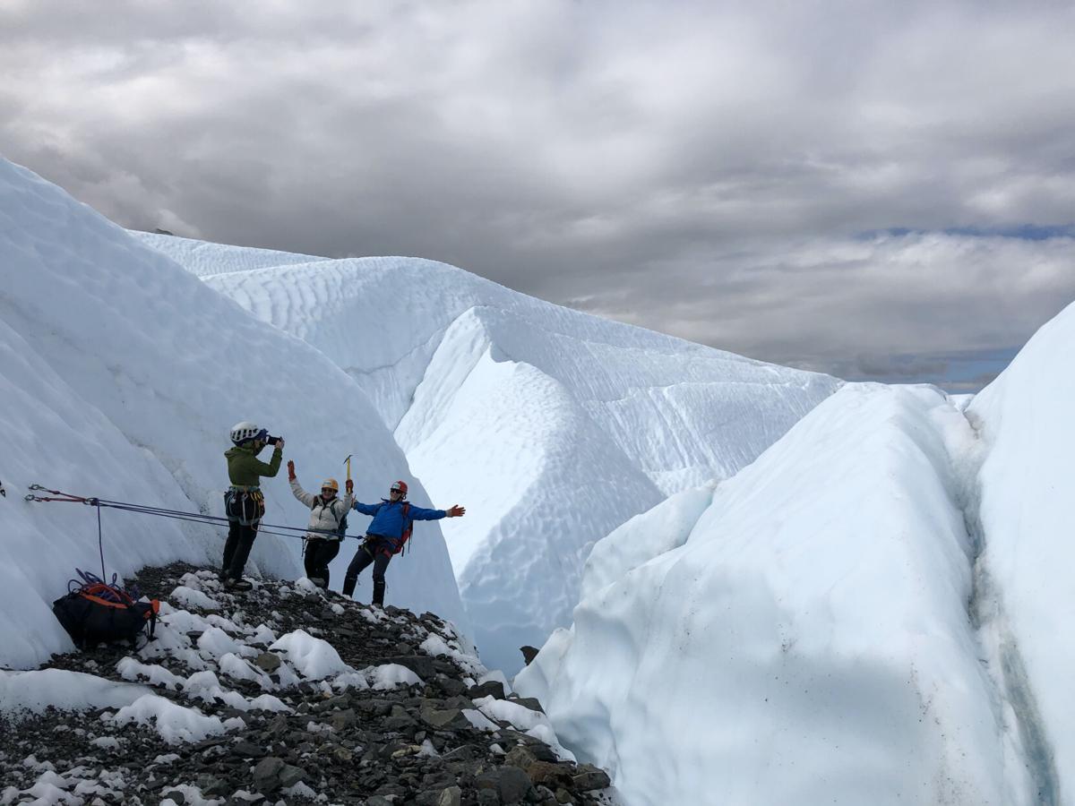 Advanced glacier tour