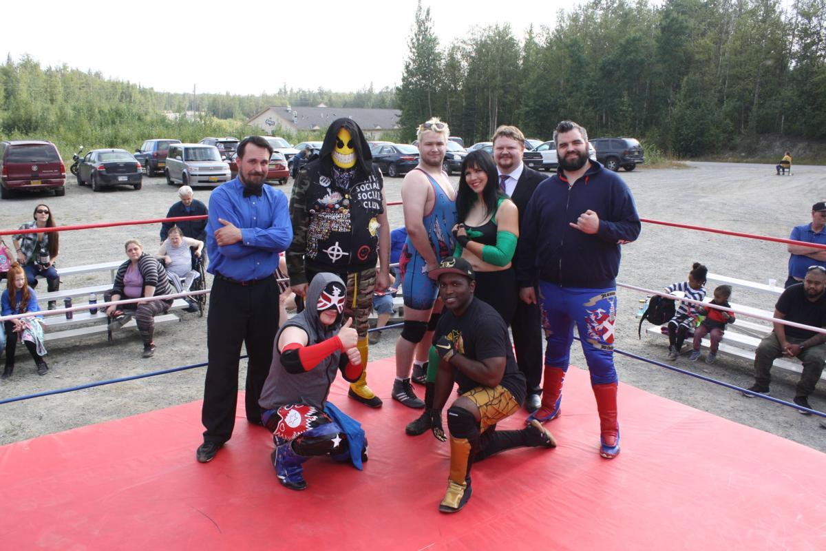 NSA wrestlers
