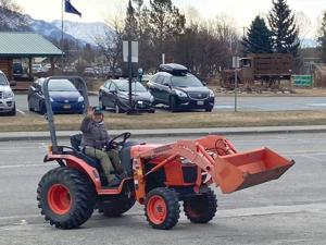 Tractor parade celebrates the start of growing season for local farmers