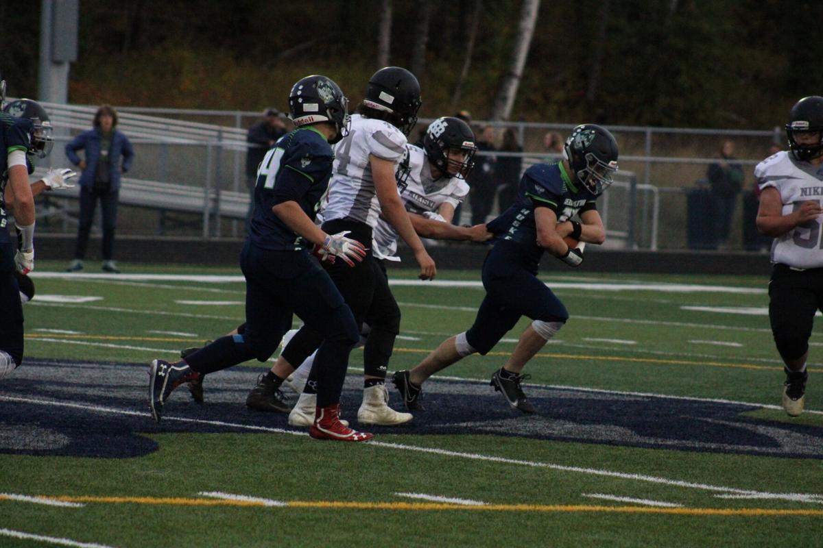 Redington junior Dallas Mattson returns a fumble 50 yards for a touchdown