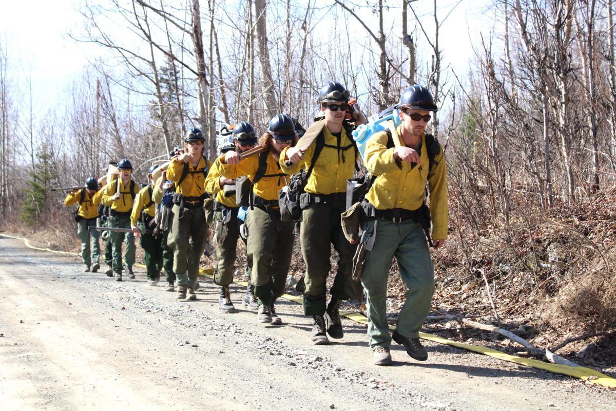 Wildland fire crew
