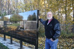 New memorial wall installed at Palmer Pioneer Cemetery