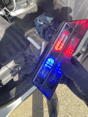 Troopers arrest police impersonator