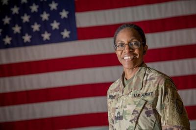 Alaska Army National Guard Master Sgt. Melissa Branch