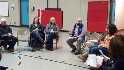 Flores/Quackenbush Memorial Playground meeting