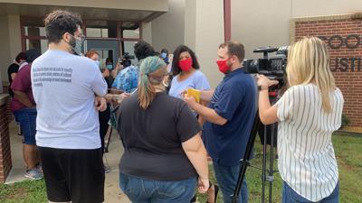 PRO Gainesville activists speak after bonding out