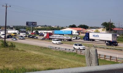 Crash on I-35 sends 2 to Denton hospital