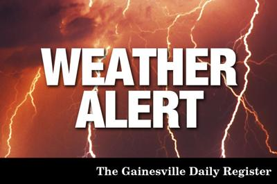 Flash flood warning issued for Cooke County | Local News