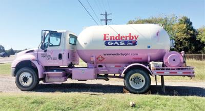 Pink truck highlights fight against cancer