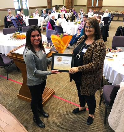 Jones honored by women's ecumenical organization