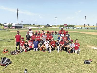 Muenster holds youth baseball clinic