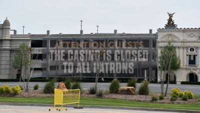 Winstar closed sign