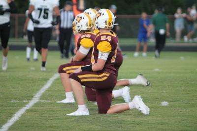 Collinsville defensive line