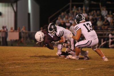 Lindsay Callisburg tackle