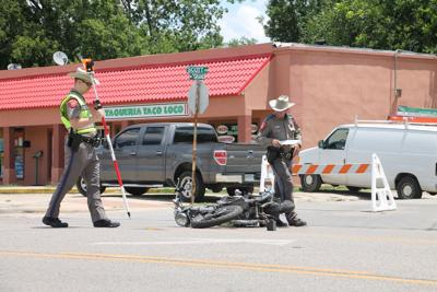 Motorcycle rider flown to hospital after crash | News