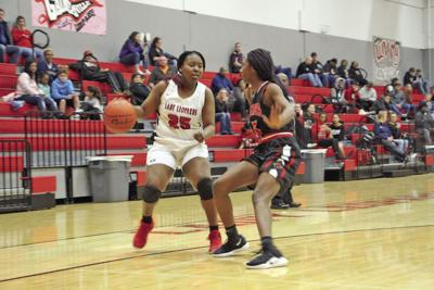 Lady Leopards show fight, fall to Melissa