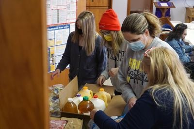 Volunteers, donors support ad hoc shelter at St. Paul's