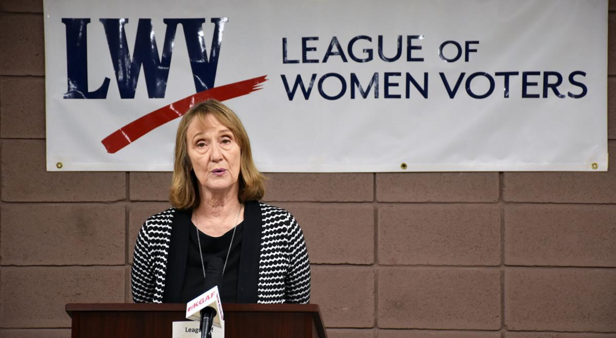 Open forum: League of Women Voters hosts candidates for state, federal office