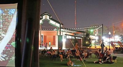 Market opens for movie night (copy)