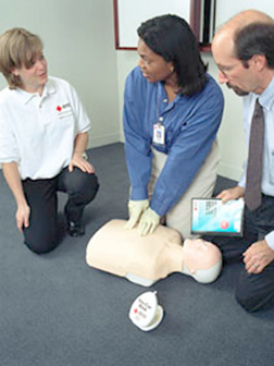 Volunteer training for county