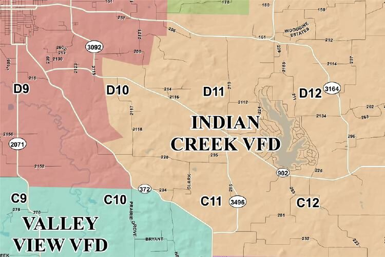 Indian Creek fire district