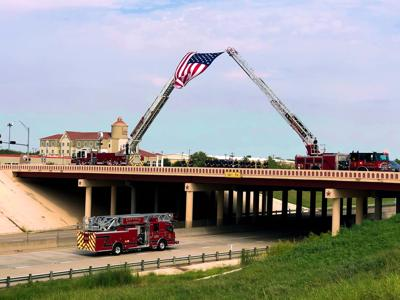 Honoring a firefighter's life of service