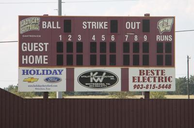 Whitesboro Softball Scoreboard