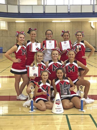 Muenster cheerleaders bring home awards