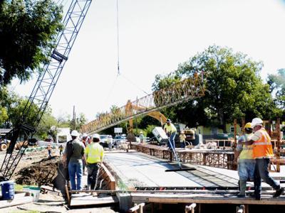 Bridge progress