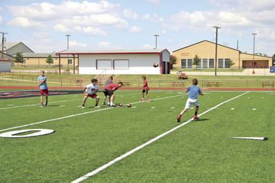 Muenster football clinic