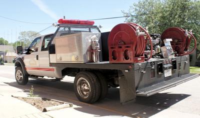 Trucks in use