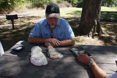 Bigfoot researcher Jerry Hestand
