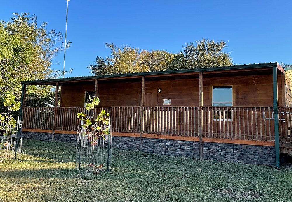 Roberts nature center exterior