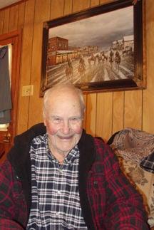 Former Delaware Bend resident Hal Dick