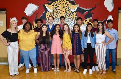 GHS homecoming candidates and court