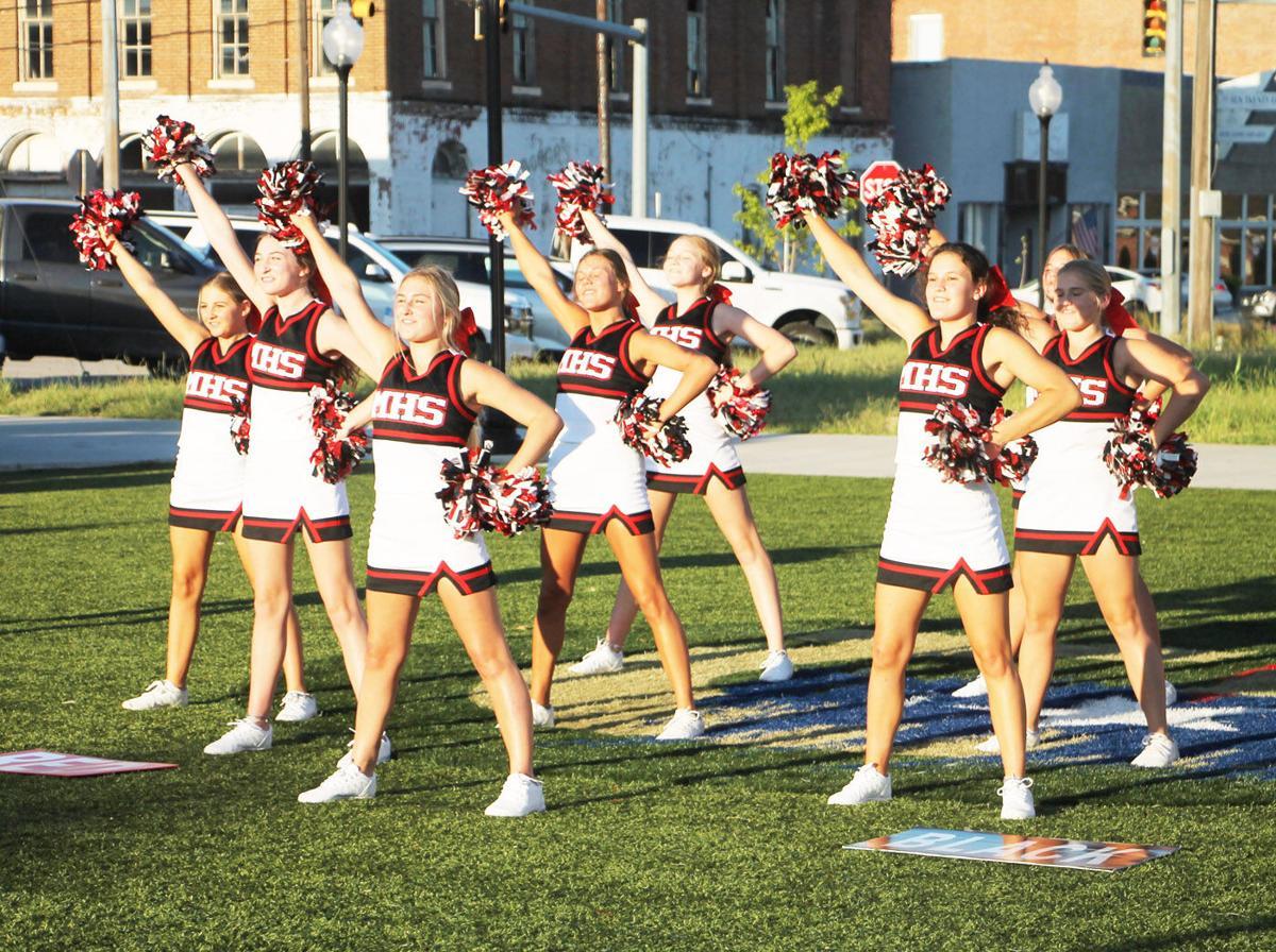 kickoff muenster cheerleaders