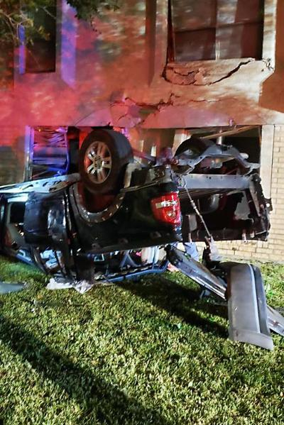 Police: Crash injures at least two