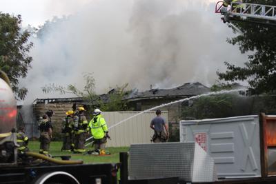 Fire on Hillcrest Blvd.