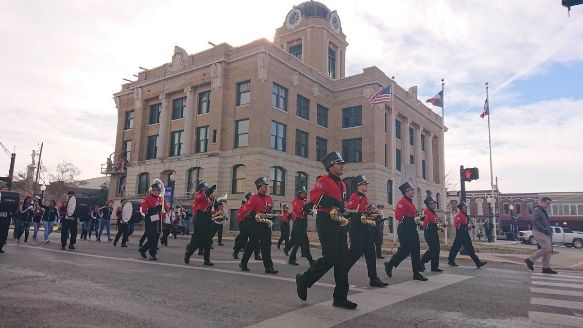 MLK Parade band members