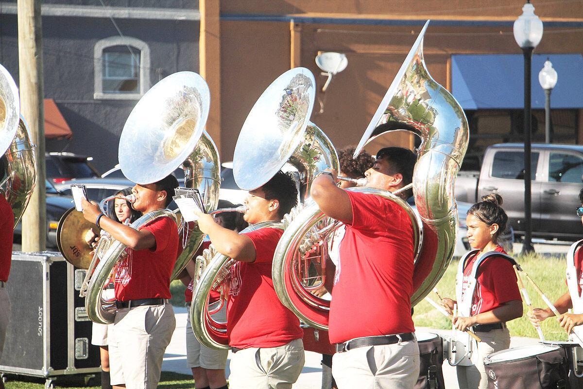Gainesville HS band