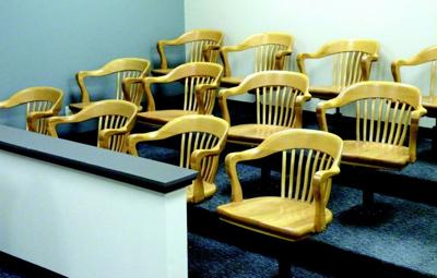 Filling the juror's seat