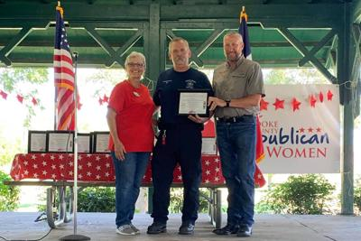 Weekend picnic honors first responders