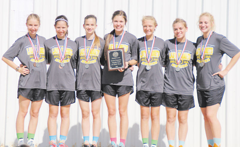Lady Hornets cross country