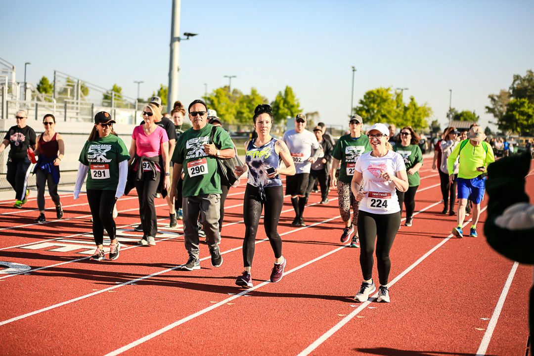 Run participants