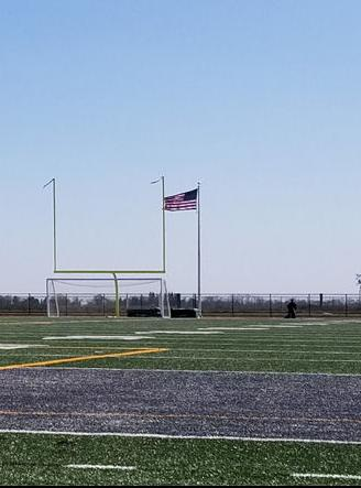 Liberty Ranch High School's stadium