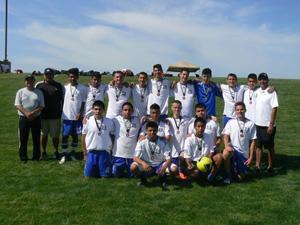 United U17 boys place third in Manteca Spring Invitational