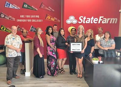 Chamber honors State Farm as Business of the Month