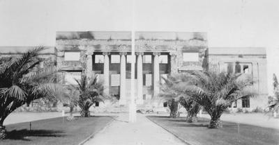 1924 Galt High School Fire