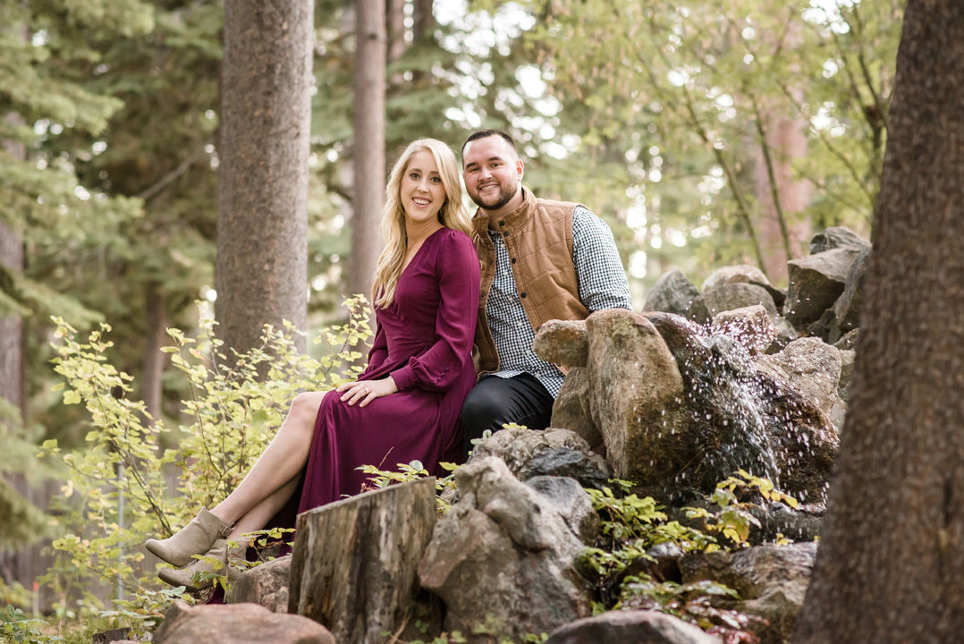 Stephen de Diego and his fiancee Erica Auld