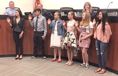 Galt Youth Commission members